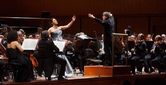 Pappano/Netrebko in concerto – Accademia di Santa Cecilia a Roma