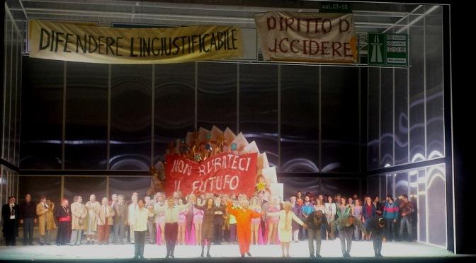 Aufstieg und Fall der Stadt Mahagonny. Weill e Brecht all'Opera di Roma