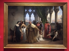 Hayez, I due Foscari