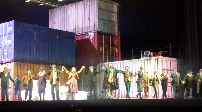 I container kafkiani di Michieletto: all'Opera di Roma la metamorfosi del Trittico