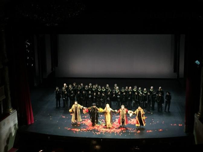 Rosmonda d'Inghilterra -Teatro Donizetti di Bergamo