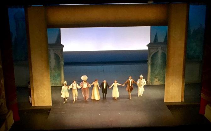 Strehler e Metha per Die Enführung auf dem Serail – Teatro alla Scala