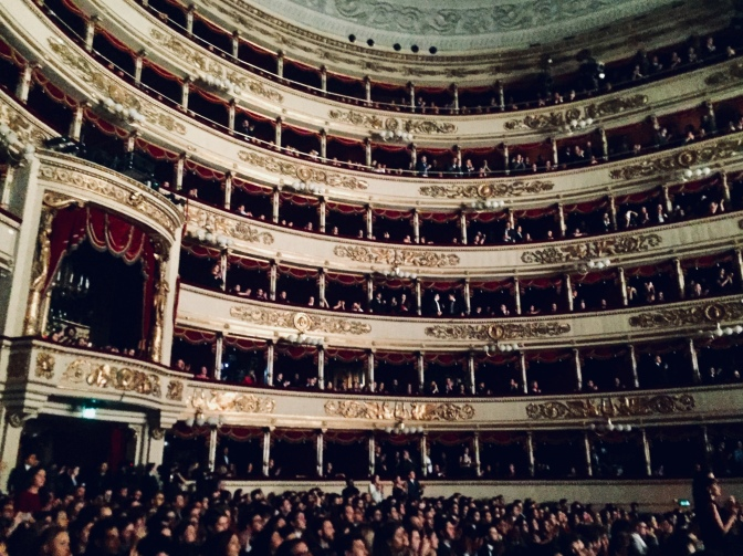 Anteprima di Andrea Chénier in Scala, in attesa di Sant'Ambrogio